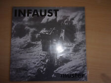 INFAUST - Muster Rare LP Rock Indus HardCore Hard Core Punk Industrial music