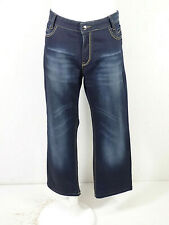ICEBERG Herren Jeans in W40 x L30 / Blau mit Waschung Neuwertig ( Q 9845 )