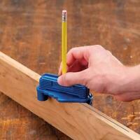 Multifunction Center Offset Scriber Marking Tool Magnetic Carpenter Bottom Gauge
