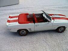 1969 Chevrolet Camaro SS Orange Coffret Danbury Comme neuf 1993 C9 Diecast Replica 1:24