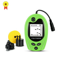 Portable Fish Finder Depth Sonar Sounder 100M 328Feet Fish Sonar With Compass