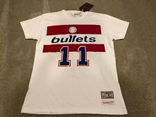 NEW Authentic Mitchell & Ness Elvin Hayes Washington Bullets NBA Shirt Jersey S