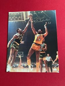 "Wilt Chamberlain, ""Autographed"" (JSA Letter) 16x20 Photo (Graded 9) Scarce"