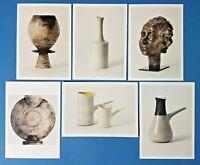 Set of 6 NEW Postcards Art Studio Pottery By Lucie Rie & Hans Coper