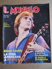 IL MONELLO n°3 1980 Shaun Cassidy Poster Calendario Angelo Branduardi  [G425]