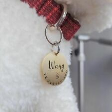 Personalized Collar Pet Cat Dog ID Tag Accessories Custom Engraved Supply Names