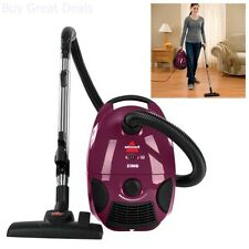 Bissell Powerful Suction Bagged Vacuum 4122 Corded Portable Light Weight Multi