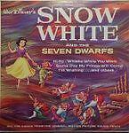 Disney: Snow White & the Seven Dwarfs - LP - Original Whirlpool Cover (#1201)