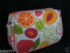 NEW Clinique Cosmetic Case-Summer Fruits