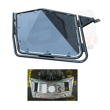 50 Caliber Racing Black RZR Door + Billet Aluminum dash panel 900xp 800 570 Part