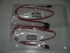 2x SATA3 Kabel 57,5cm - 6GB/s - rot - neu