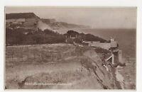 Jacobs Ladder Sidmouth, Devon RP Postcard, A905