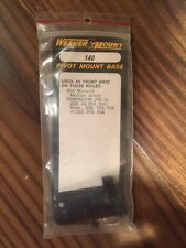 Weaver Pivot Mount Base #140 - NOS - BSA, Remington