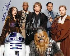 STAR WARS CAST 2 REPRINT 8X10 AUTOGRAPH SIGNED PHOTO HARRISON FORD CARRIE FISHER