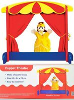 NEW Wooden HAND / FINGER PUPPET THEATRE Kids Fun Educational Toy Pretend Play