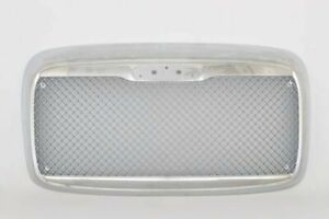 00-12 Freightliner Columbia Front Grille W/BUG SCREEN Chrome Custom Mesh Style