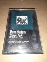 Van Halen Women & Children First Cassette Tape