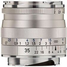 Brand New Carl Zeiss Biogon T* 35mm F2 ZM Wide Angle Lens Silver Leica M M9 M10