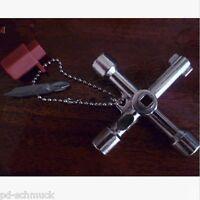 Universalschlüssel Vierkantschlüssel Dreikantschlüssel Schaltschrankschlüssel