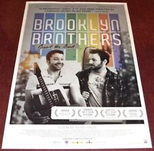 BROOKLYN BROTHERS BEAT THE BEST 2011 ORIG. 27x40 MOVIE POSTER! RYAN O'NAN COMEDY