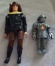 Vintage 1978 Buck Rogers Robert C Dille TWIKI ROBOT and DRACONIAN GUARD loose