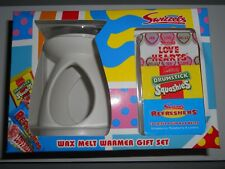 Swizzels Wax Melt Warmer Candle Gift Set Love Hearts Drumstick Refreshers Scent