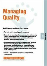 Managing Quality by Zuckerman, Amy -ExLibrary