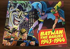 BATMAN -- The Dailes 1943 - 1944 -- Oversized TPB -- Kitchen Sink Press