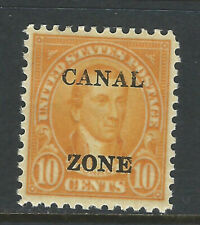 Bigjake: Canal Zone #104, 10 cent Monroe with overprint