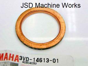 3VD-14613-01-00: OEM Yamaha Exhaust Gasket YZ WR 400F 426F 450F YFZ 450 R /X