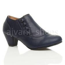 Scarpe da donna stivaletti blu tacco medio ( 3,9-7 cm )