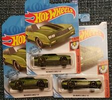2020 Hot Wheels L CASE Lot of 3 86 MONTE CARLO SS  MUSCLE MANIA