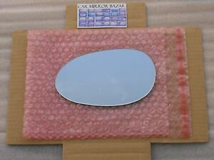 542L Replacement Mirror Glass FOR 98-06 SMART FORTWO CITY-COUPE Driver Side Left