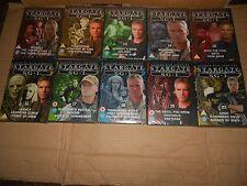 STARGATE SG-1 DVD's - JOB LOT OF 10 - BRAND NEW, SEALED. (Lot No. 2)