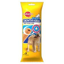 Pedigree PUPPY DENTATUBOS Denta Tubos Dental Dog Treats Tubes Sticks Chicken 3pk