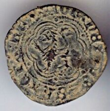 Cincin19, preciosa y escasa Blanca de JUAN II ;Toledo