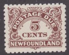 Newfoundland 1939 #J5i Postage Due 5¢ - VF MNH