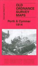 OLD ORDNANCE SURVEY MAP PORTH & CYMMER 1914
