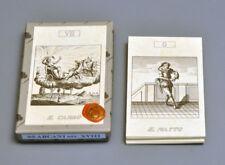 GREEK MYTHS TAROT TRUMPS REPLICA OF 1700's COPPER ENGRAVED  CARD DECK