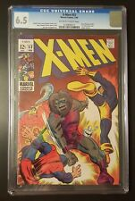 X-Men #53 - Origin of Beast -  (Feb 1969, Marvel) - CGC 6.5