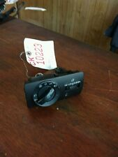 2001 Volkswagen Golf headlight switch