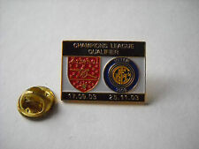 a1 ARSENAL - INTER cup uefa champions league 2004 spilla football calcio pins
