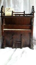 Piano Organ Music Box Amazing Grace George Good Company With Original Tag Wood