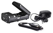 Xtar WP2s Li-ion Battery Charger & Power Bank + Car Adapter 14500/16340/18650