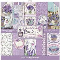 """Stamperia Double-Sided Paper Pad 12""""X12"""" 10/Pkg-Provence, 10 Designs/1 Each"""