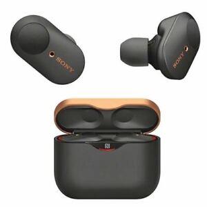 Sony WF-1000XM3 Bluetooth True Wireless Noise Cancelling Schwarz NEU