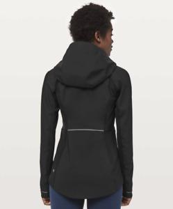Lululemon Cross Chill Jacket Black - Size 4 - Wind / Waterproof $198 EUC