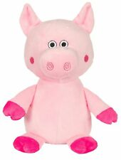 """Wags & Purrs 10"""" Pig Plush Pet Toy with Squeaker"""