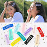 20pcs Candy Color Snap Hair Clips Set BB Hairpin Metal Geometric Barrettes Pins