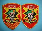 """VIETNAM WAR LOT OF 2 PATCHES ARVN SPECIAL FORCES """" MIKE FORCE """""""